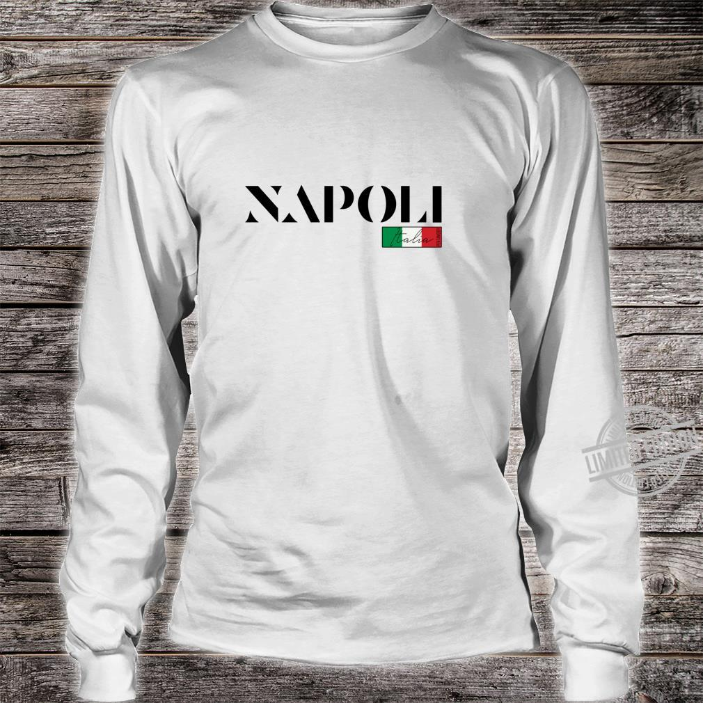 NEAPEL NAPOLI ITALIEN ITALIA URLAUB SOMMER PARTY Langarmshirt Shirt long sleeved