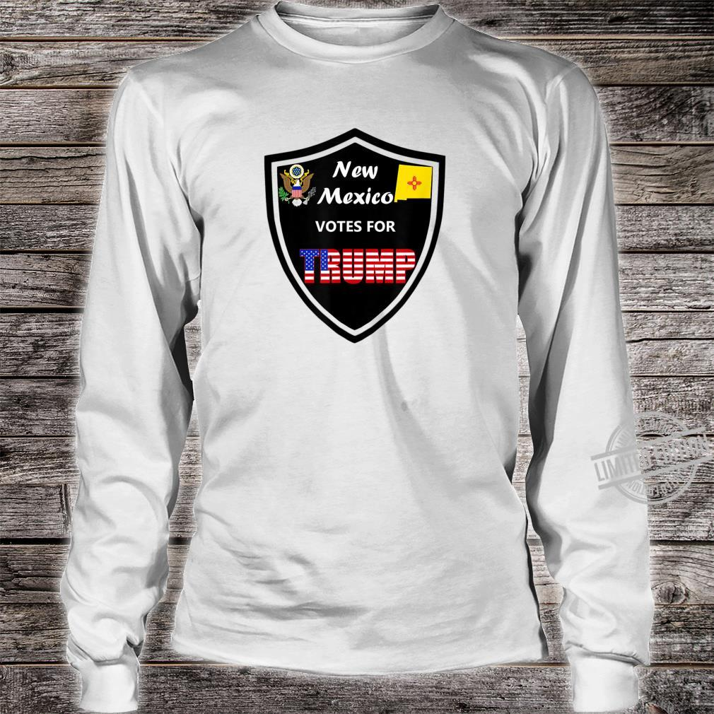 New Mexico Votes For Trump President 2020 Farbreihe Nr 1 Shirt long sleeved