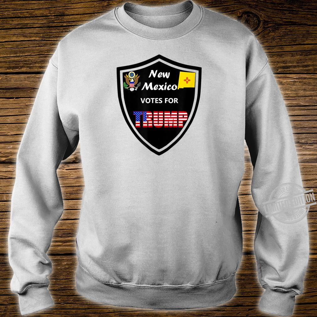 New Mexico Votes For Trump President 2020 Farbreihe Nr 1 Shirt sweater