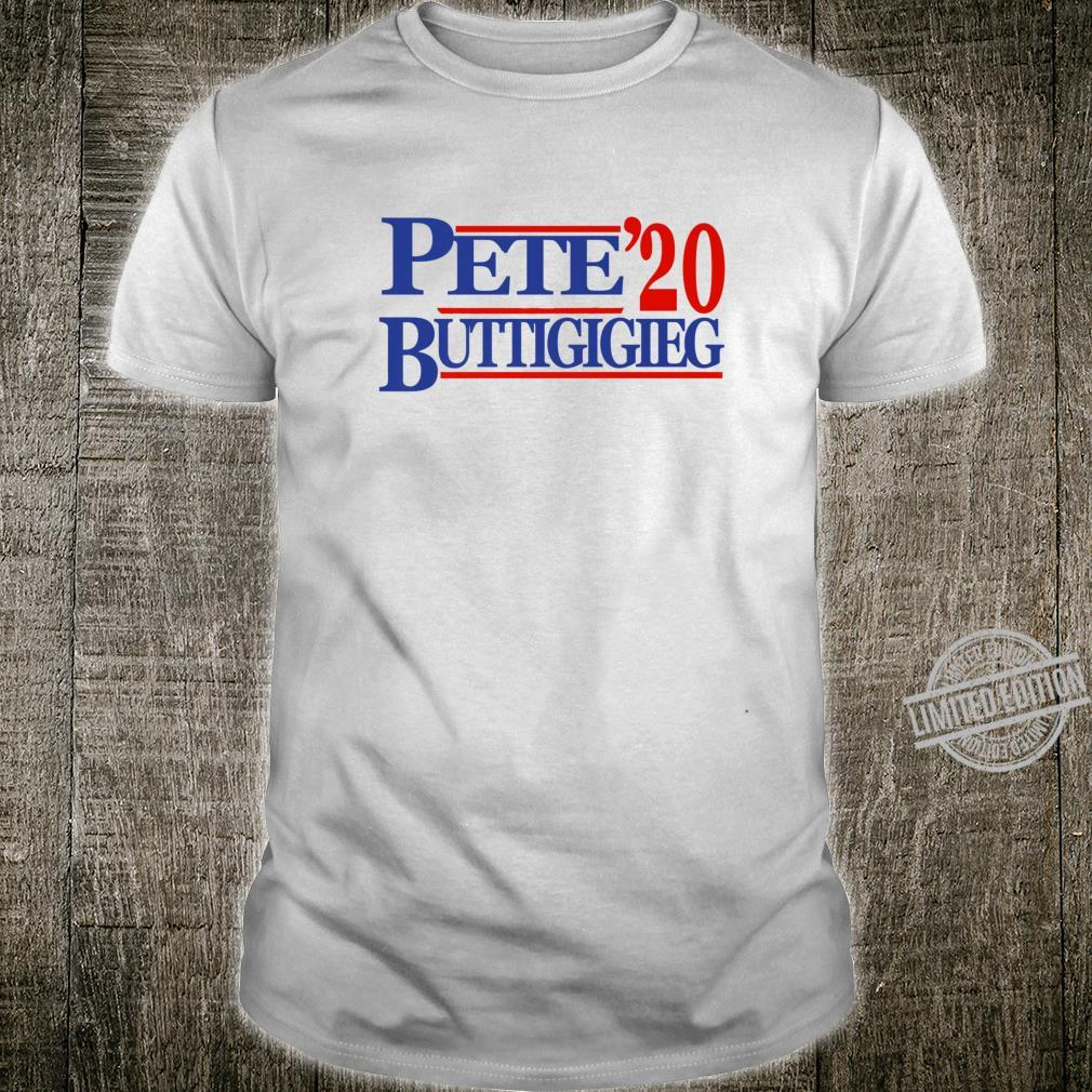 Pete Buttigieg 2020 Vintage Style Campaign Gear Shirt