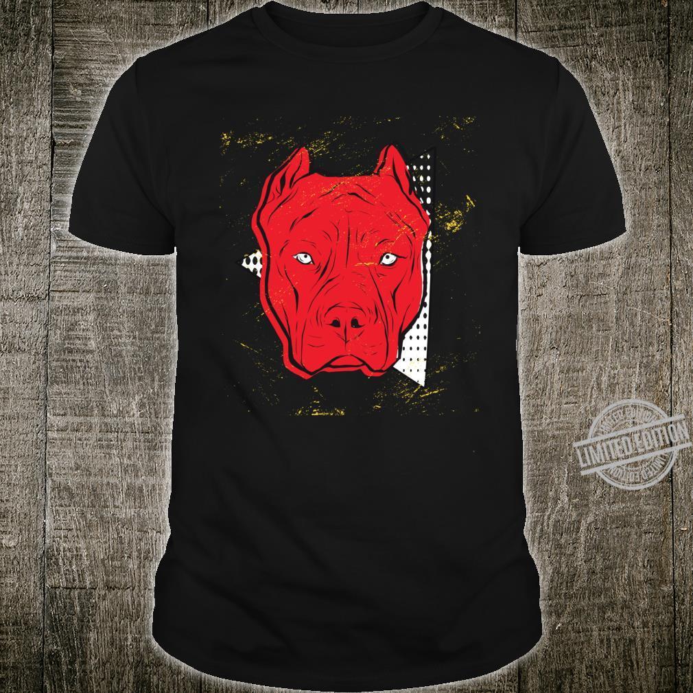 Pitbull Hund Shirt