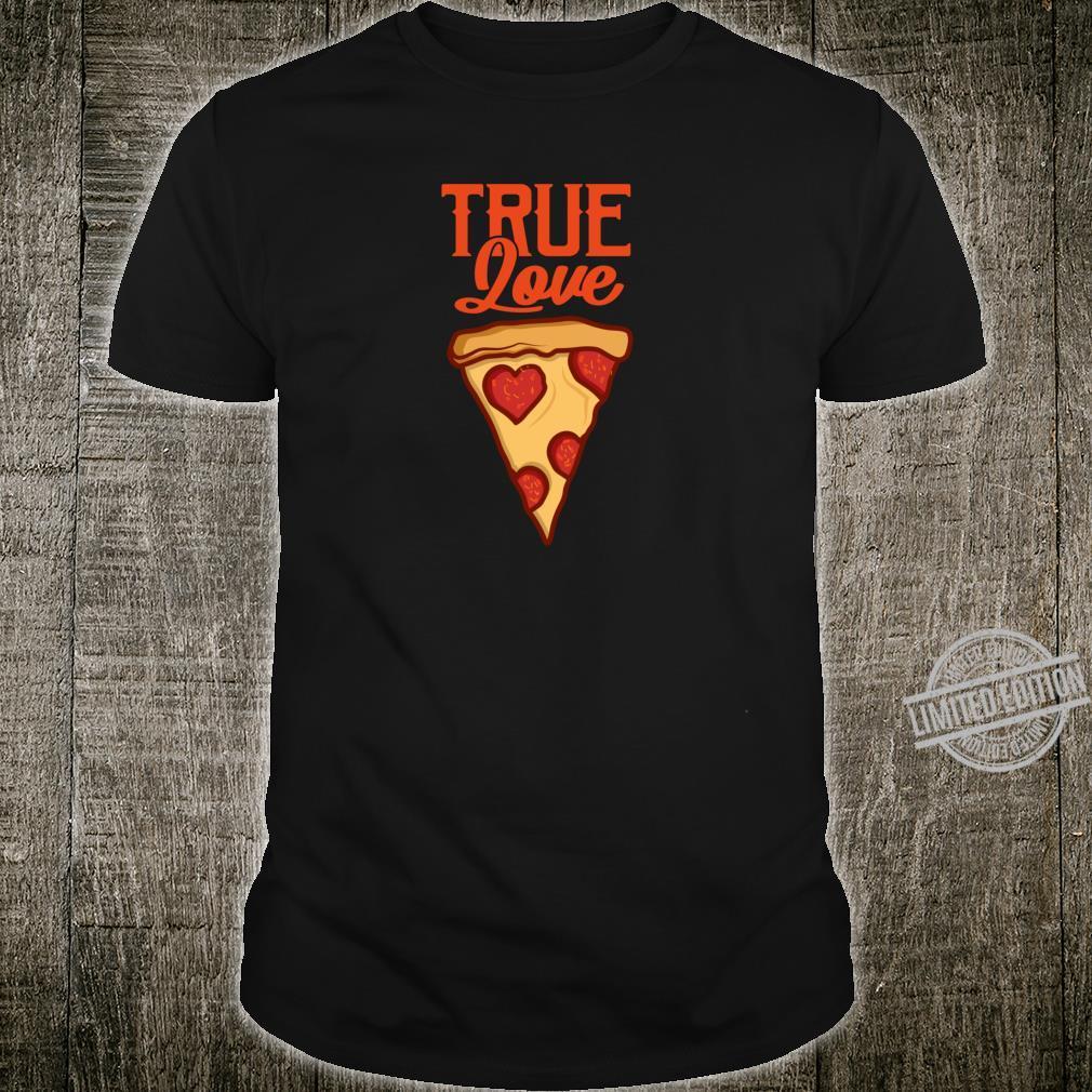 Pizza Lustig PIZZASTÜCK Pizzaliebhaber Geschenk Shirt