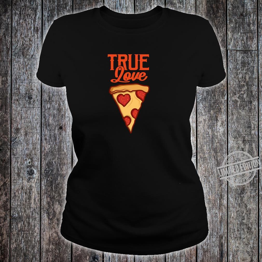 Pizza Lustig PIZZASTÜCK Pizzaliebhaber Geschenk Shirt ladies tee