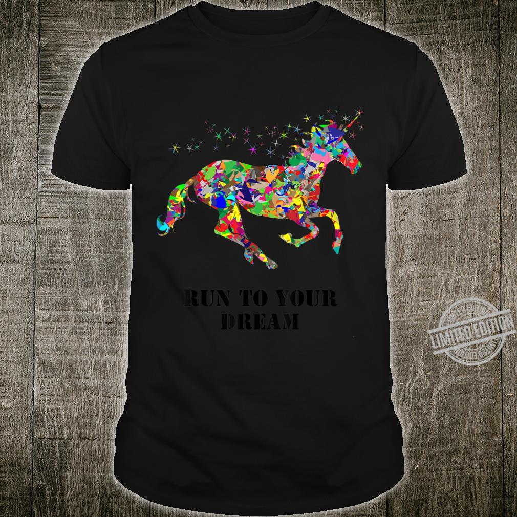Positive Zitate Inspirational Pferdeliebhaber Mädchen Shirt
