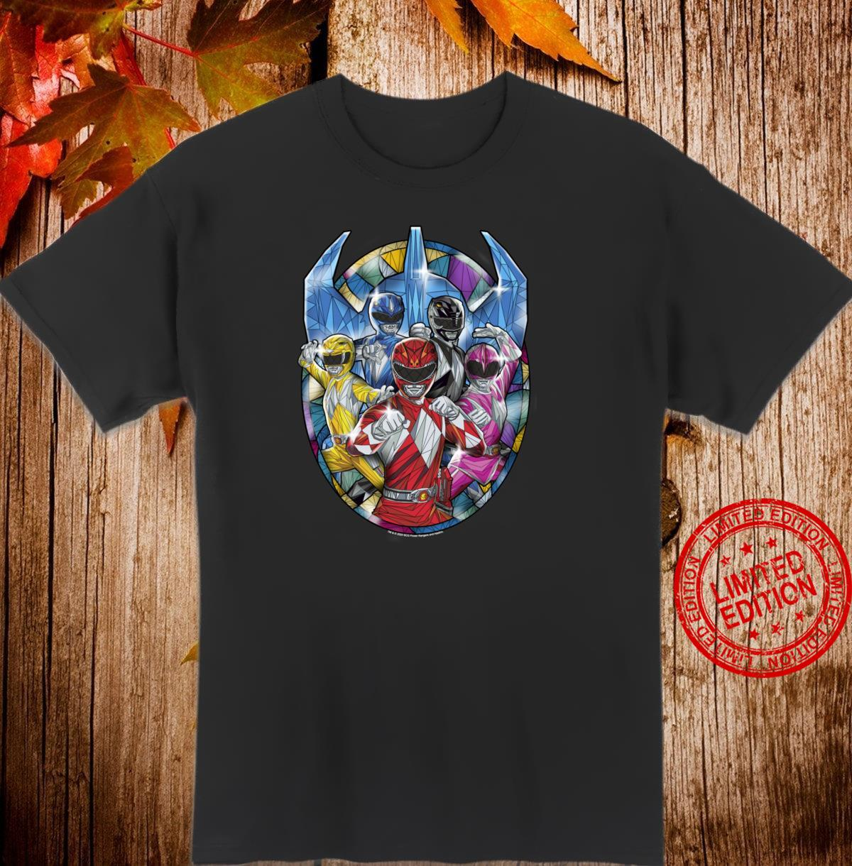 Power Rangers Stained Glass Shirt