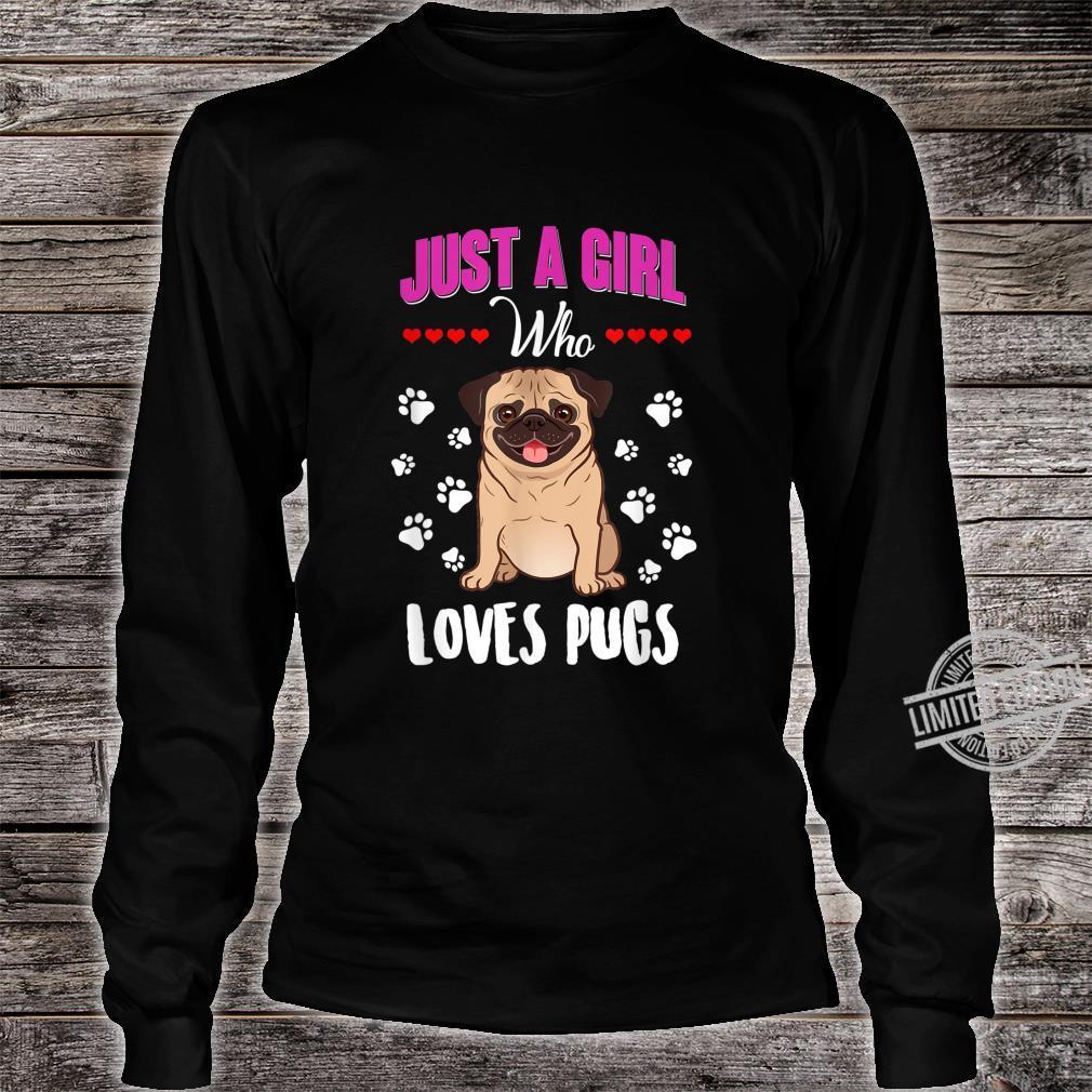 Pugs Shirt long sleeved