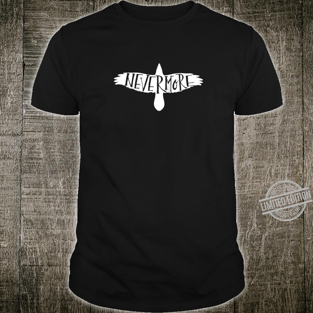 Quoth the Raven Edgar Allan Poe Nevermore Crow Shirt