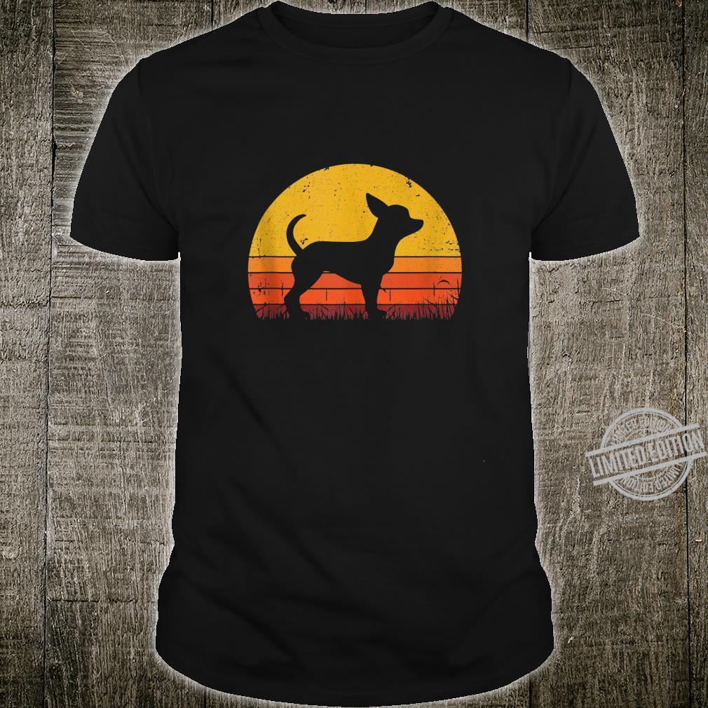 Retro Chihuahua Shirt Dog Mom Dog Dad Vintage Chihuahua Shirt