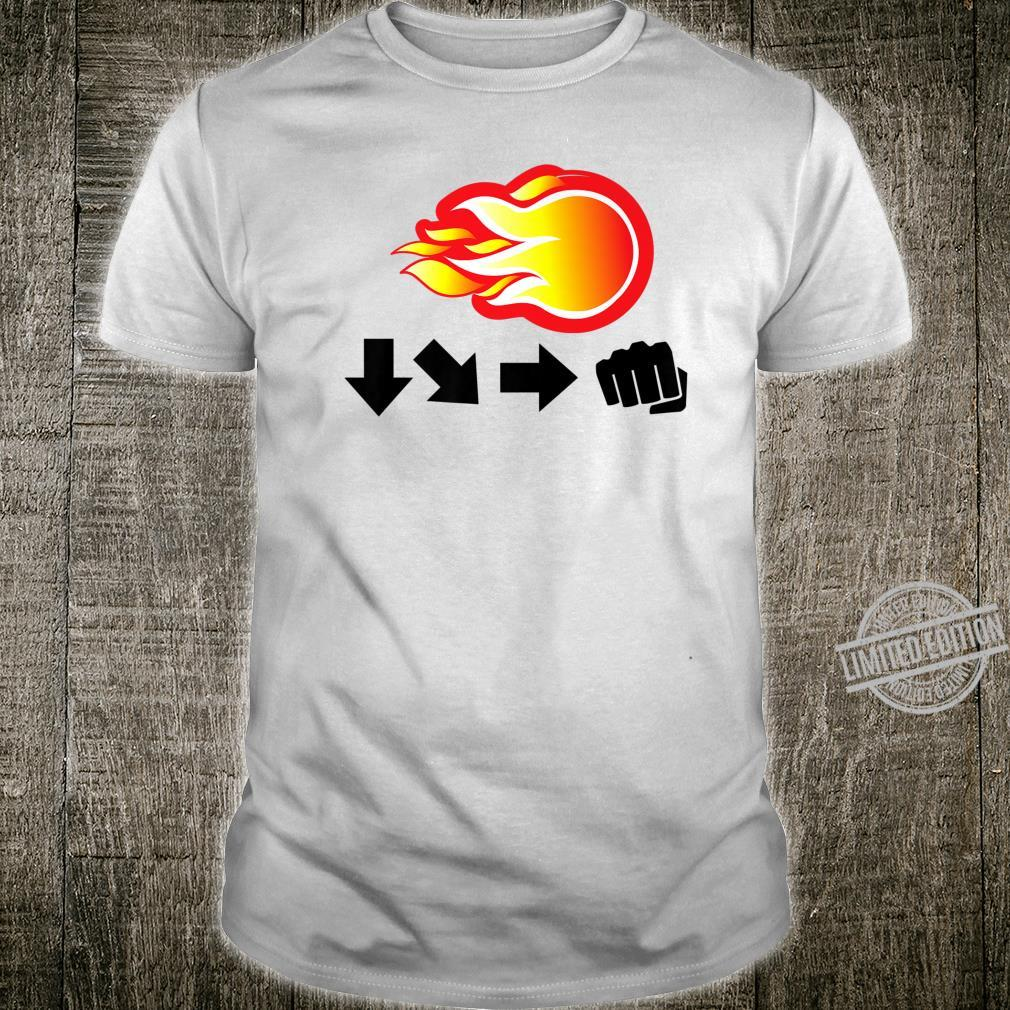 Retro Gaming Beat Em Up Videogame Shirt