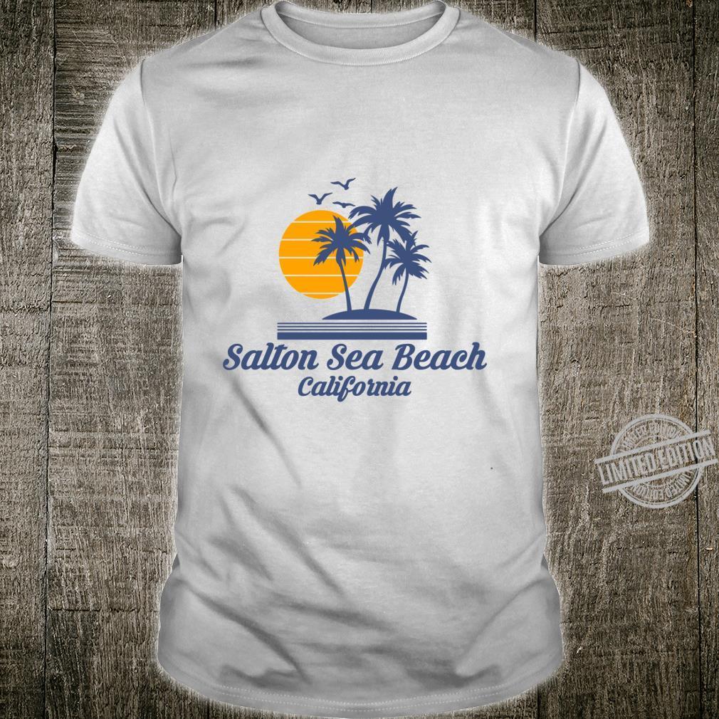 Salton Sea Beach California City State Tourist Souvenir Shirt