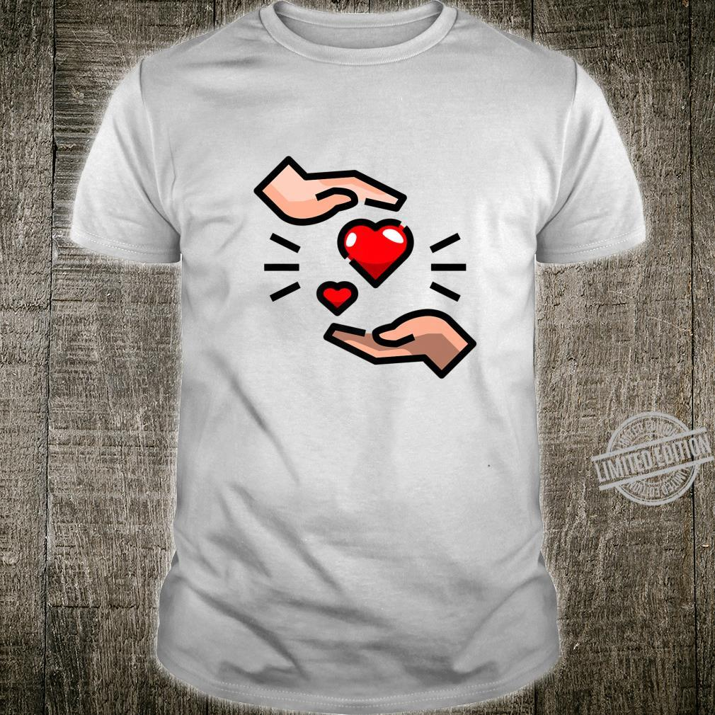 Sharing The Love By Touching Hearts And Spreading Happiness Shirt