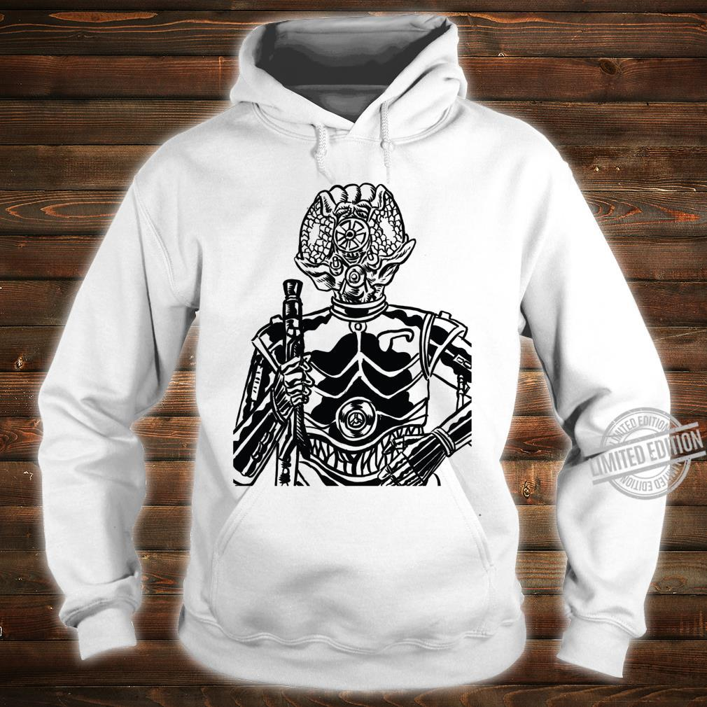 Star Wars 4LOM Bounty Hunter Droid Comic Book Sketch Shirt hoodie