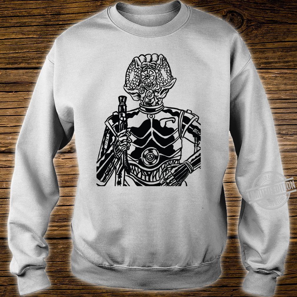 Star Wars 4LOM Bounty Hunter Droid Comic Book Sketch Shirt sweater