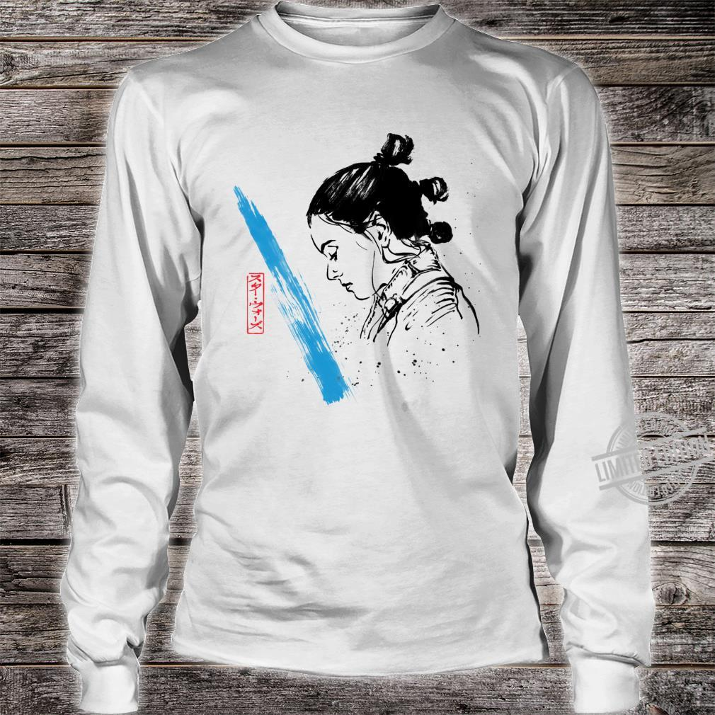 Star Wars The Last Jedi Rey Watercolor Sketch Shirt long sleeved