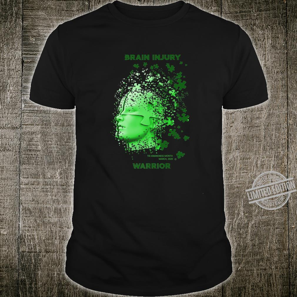 TBI Awareness Brain Injury Warrior Shirt