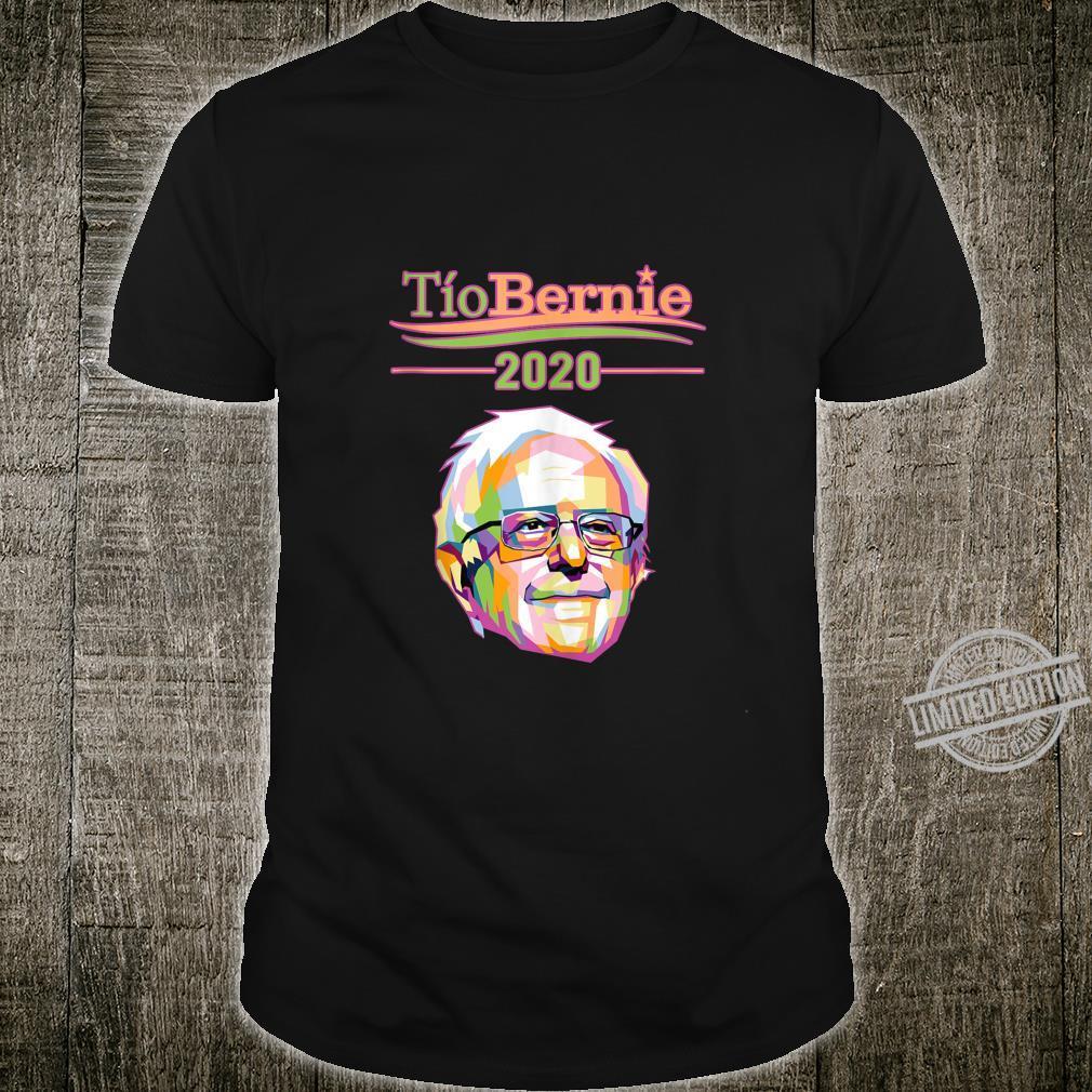 Tio Bernie Sanders Vote Election 2020 Latino Hispanic Shirt