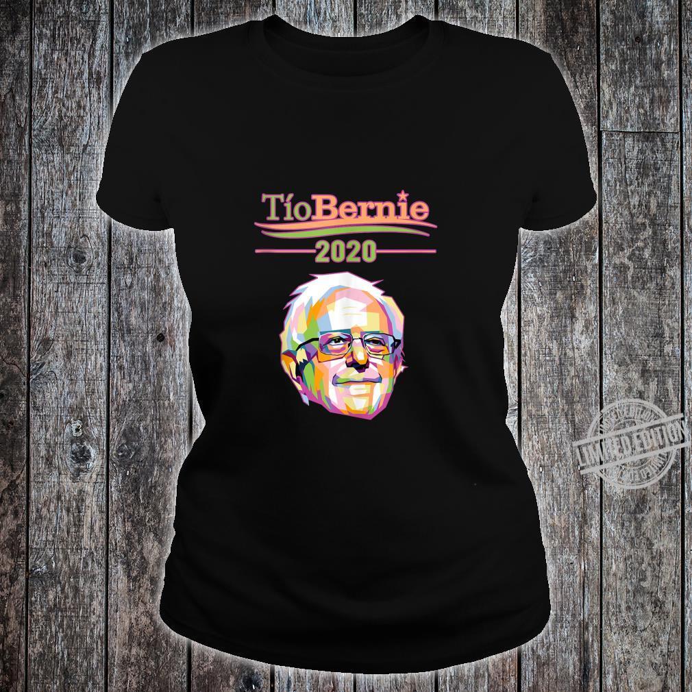 Tio Bernie Sanders Vote Election 2020 Latino Hispanic Shirt ladies tee