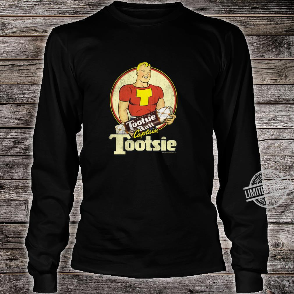 Tootsie Roll Captain Tootsie Shirt long sleeved