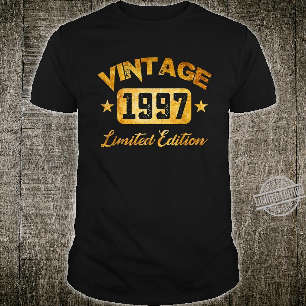 Vintage 1997 Limited Edition 23th Birthday Shirt