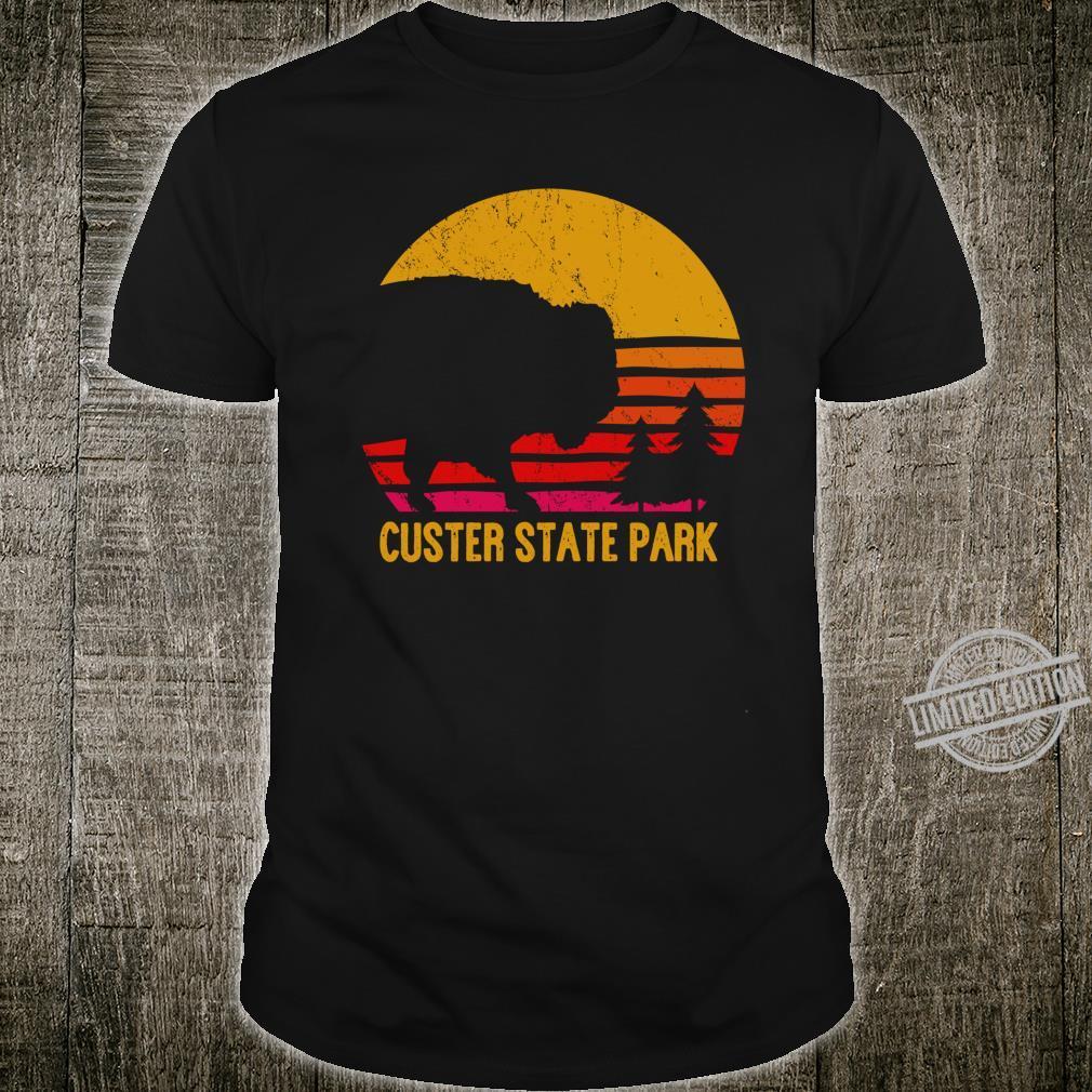 Vintage Custer State Park South Dakota Buffalo Roundup Shirt