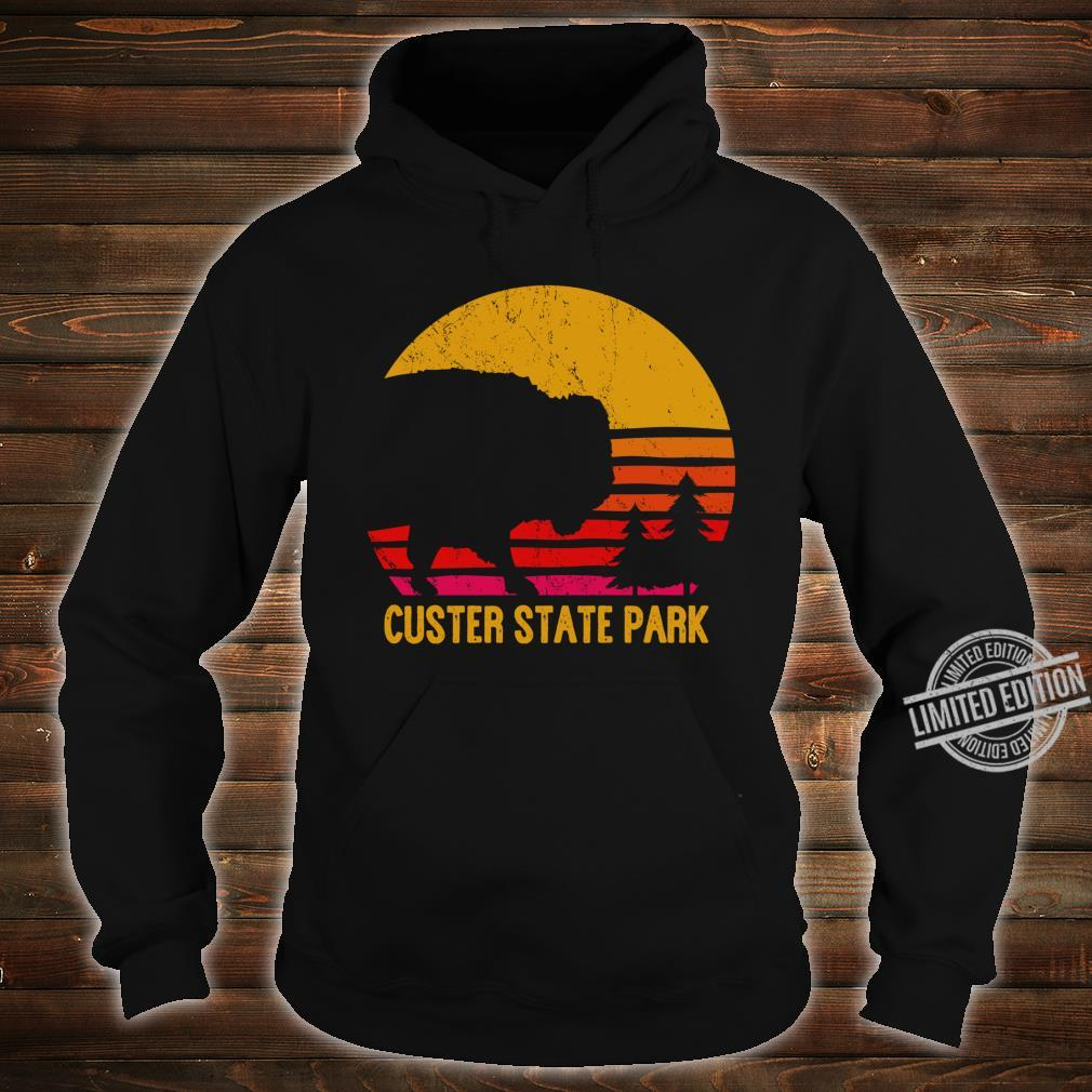 Vintage Custer State Park South Dakota Buffalo Roundup Shirt hoodie