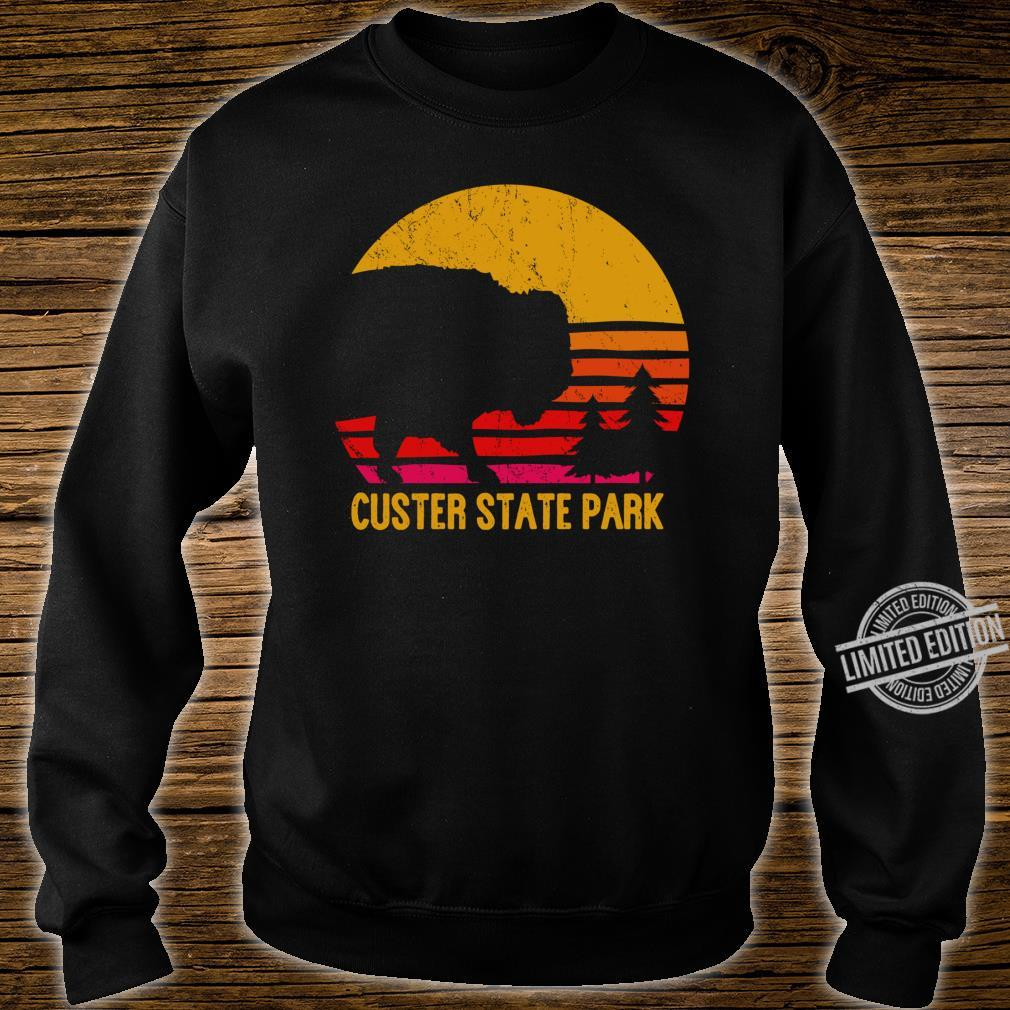 Vintage Custer State Park South Dakota Buffalo Roundup Shirt sweater