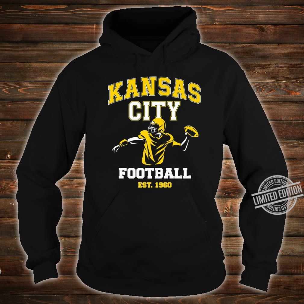 Vintage Kansas City Throwback Football Vintage Retro Shirt hoodie