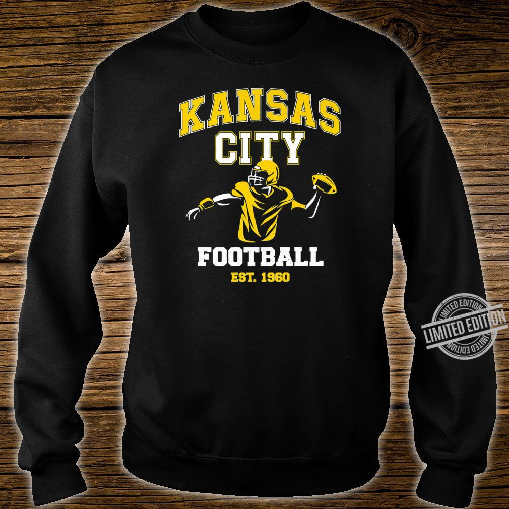 Vintage Kansas City Throwback Football Vintage Retro Shirt sweater