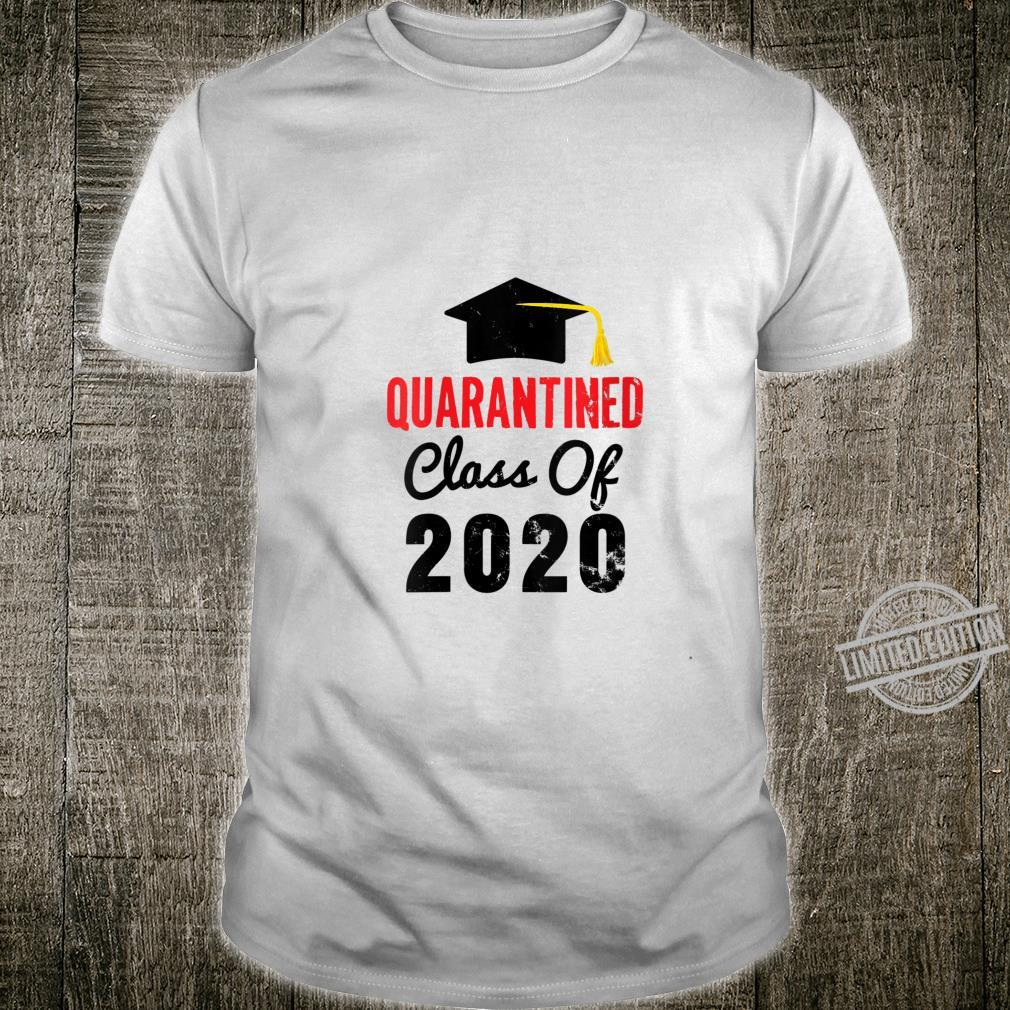 Womens Class of 2020 Senior Quarantine Distance Toilet Paper Shirt