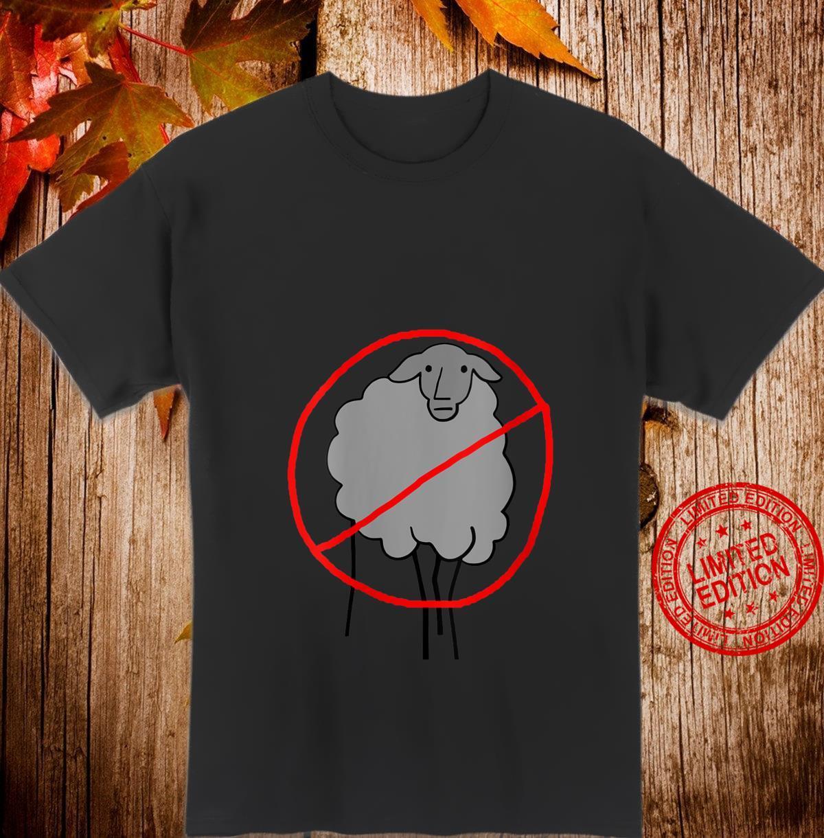 Womens No NPC Sheep Shirt