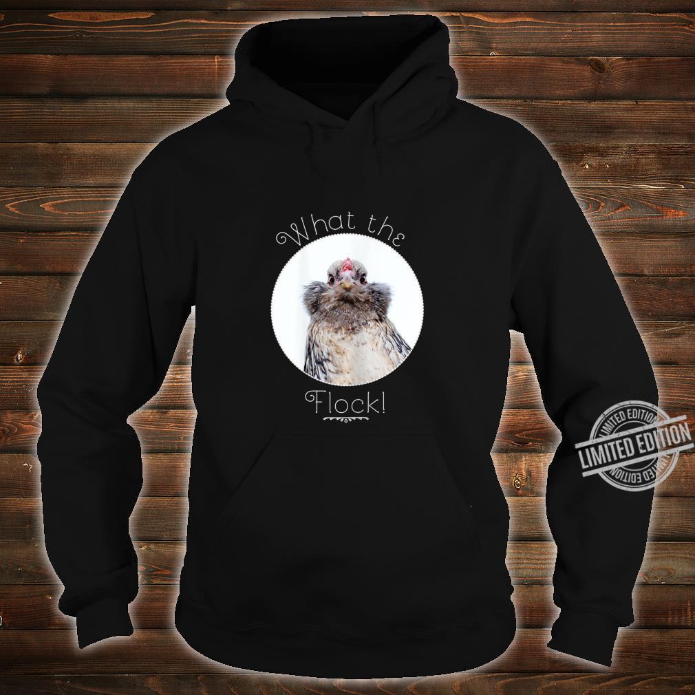 Womens What the Flock Shirt hoodie